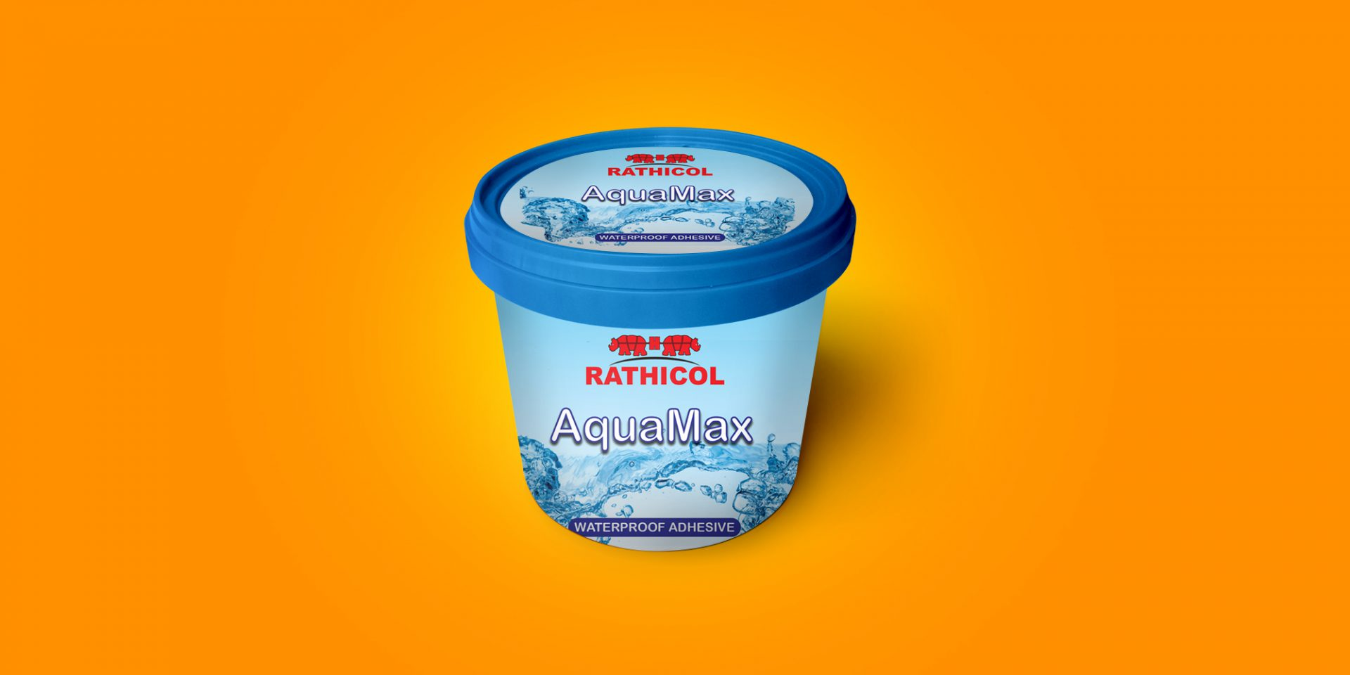 Rathicol Waterproof Adhesive Container Design