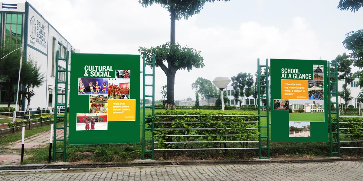 delhi public school ad banners - Delhi Public School