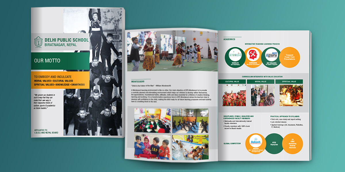 Delhi Public School Brochure Design