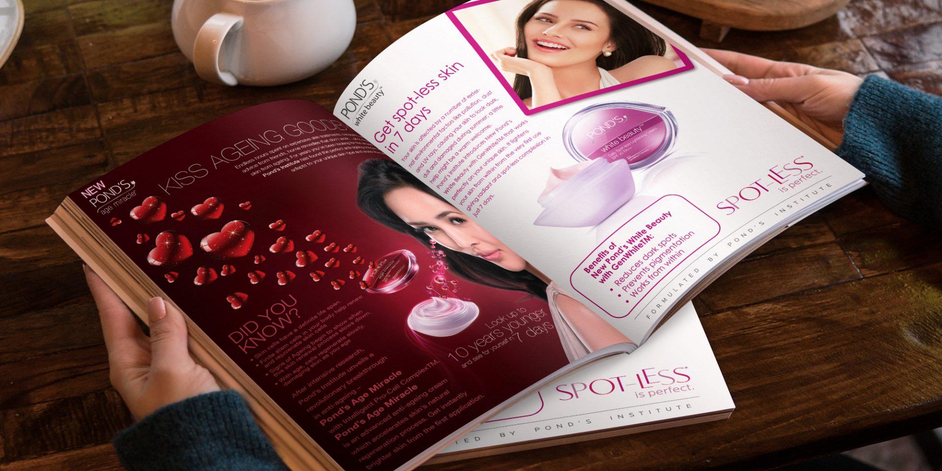 hul ponds magazine ad  - HUL