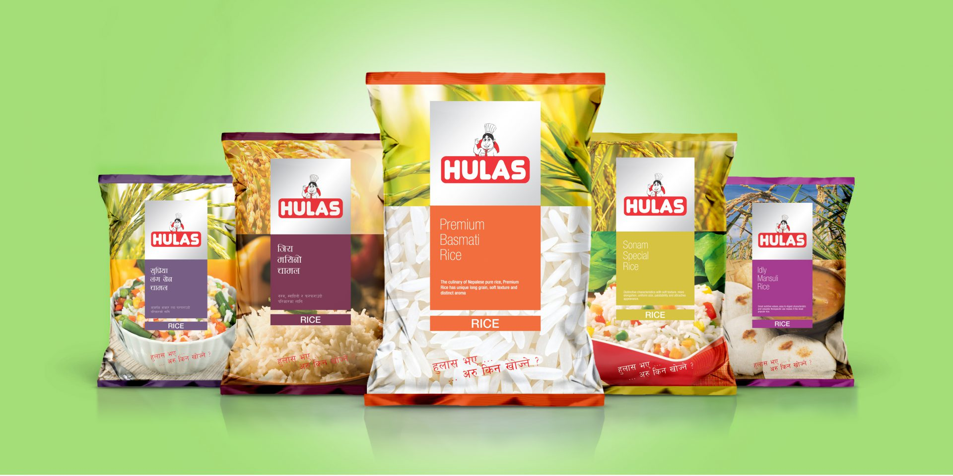 Hulas Food Packaging Design