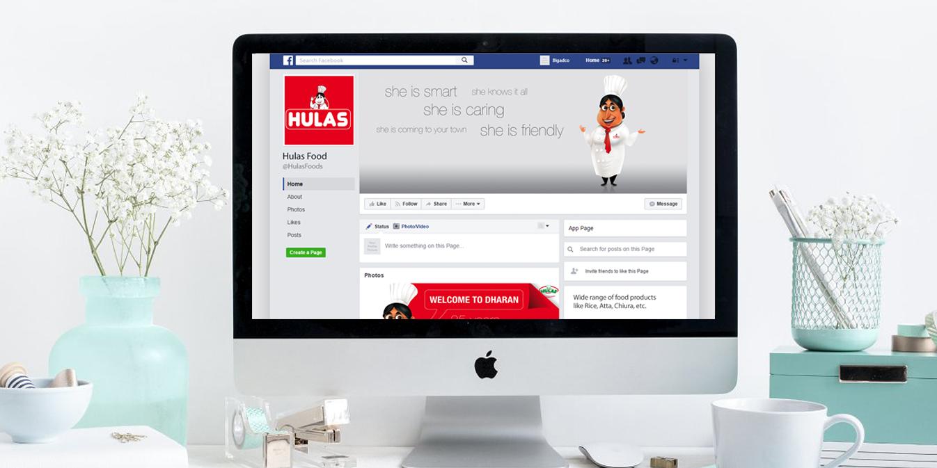 hulas foods facebook page - Hulas