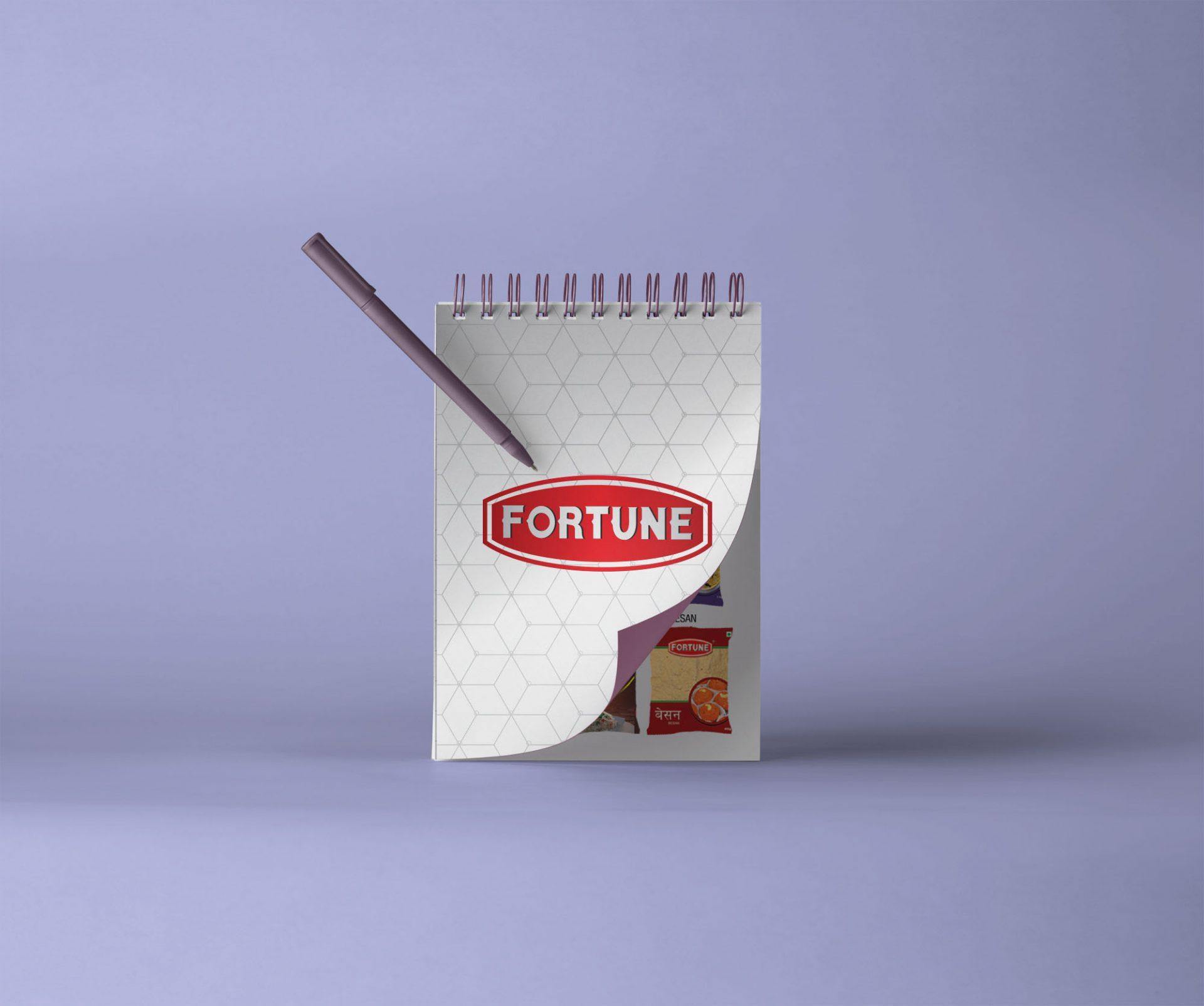 notepad graphicdesign corporate gift - Corporate IDs