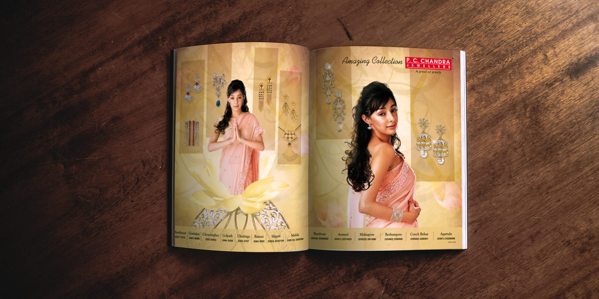 pcc jewellery ad magazine - P.C. Chandra