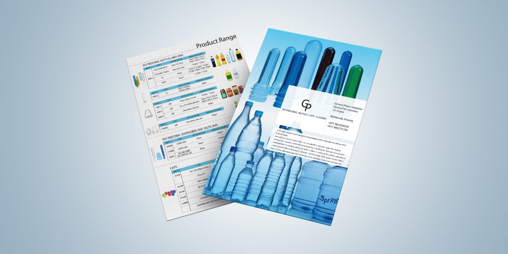 General Plastics Pet Preform Leaflet
