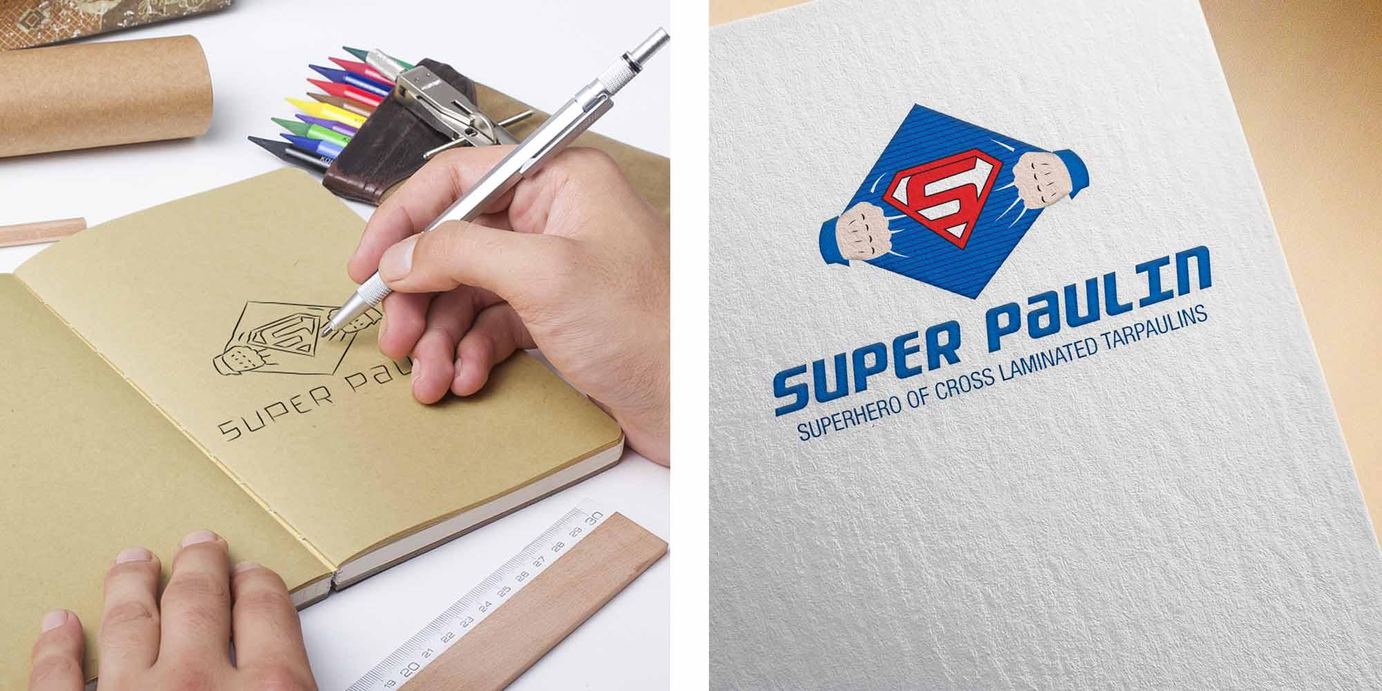 super-paulin-tarpaulin-logo-thought-process