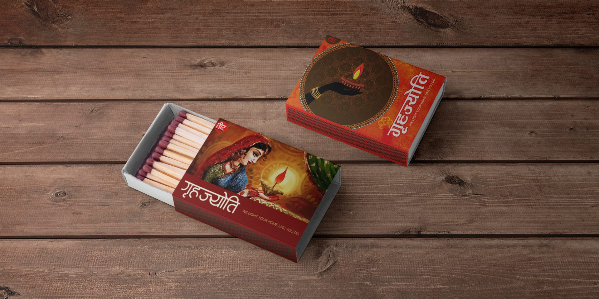 Surya Nepal Matchbox Design