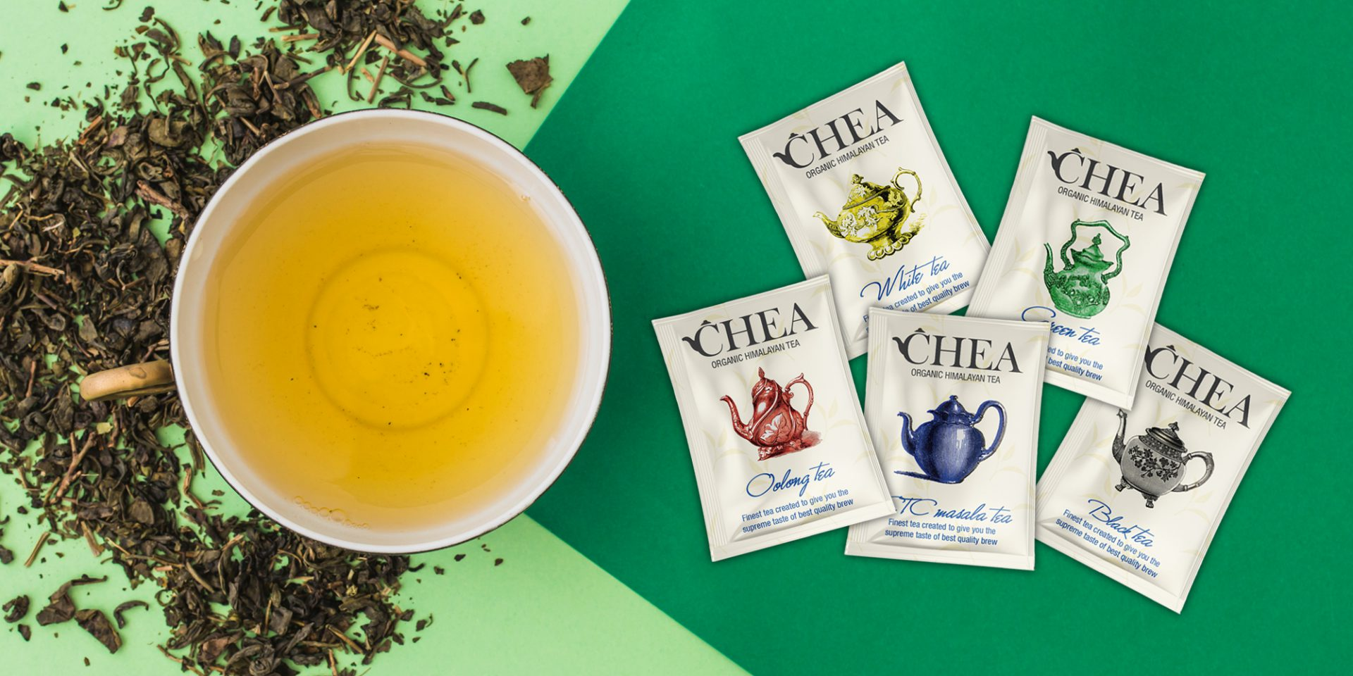 Chea Tea Bags Designs