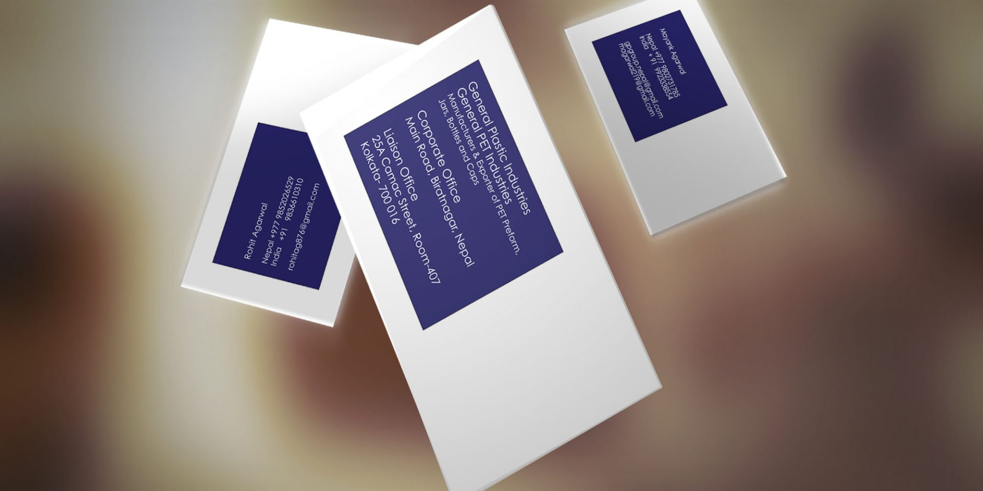 visiting card graphic design - Corporate IDs