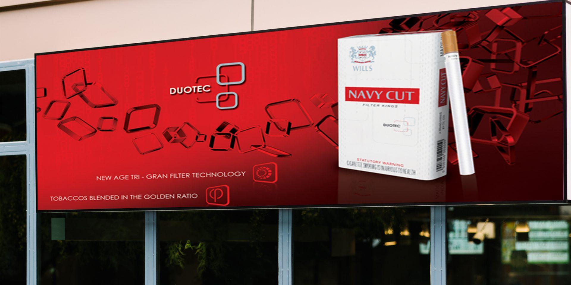navycut cigerette shop facade - ITC Classic
